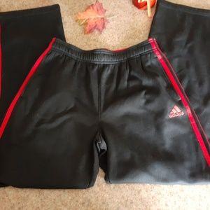 Adidas sweat pants size 14/16